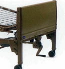 Semi Electric Hospital Bed footboard