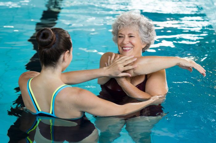 Aquatic Therapy Equipment for Swimming