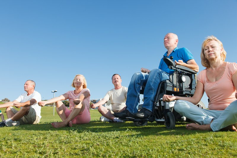 Getting Started with Wheelchair Yoga from Home