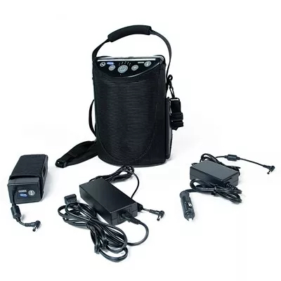 portable oxygen concentrator for air travel